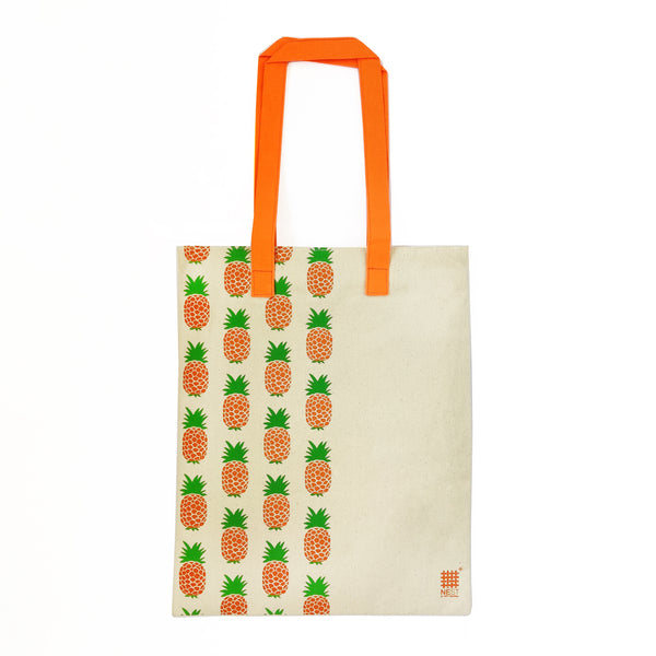 Pineapple Inspired Carry Everywhere Tote - Natural - NEST by Arpit Agarwal
