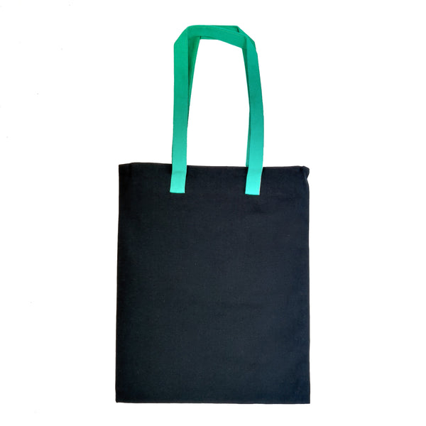 Bihu Inspired Carry Everywhere Tote - Navy - NEST by Arpit Agarwal
