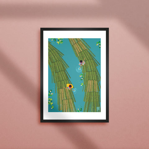 Bamboo Logs of Tripura - Print Only - NEST by Arpit Agarwal