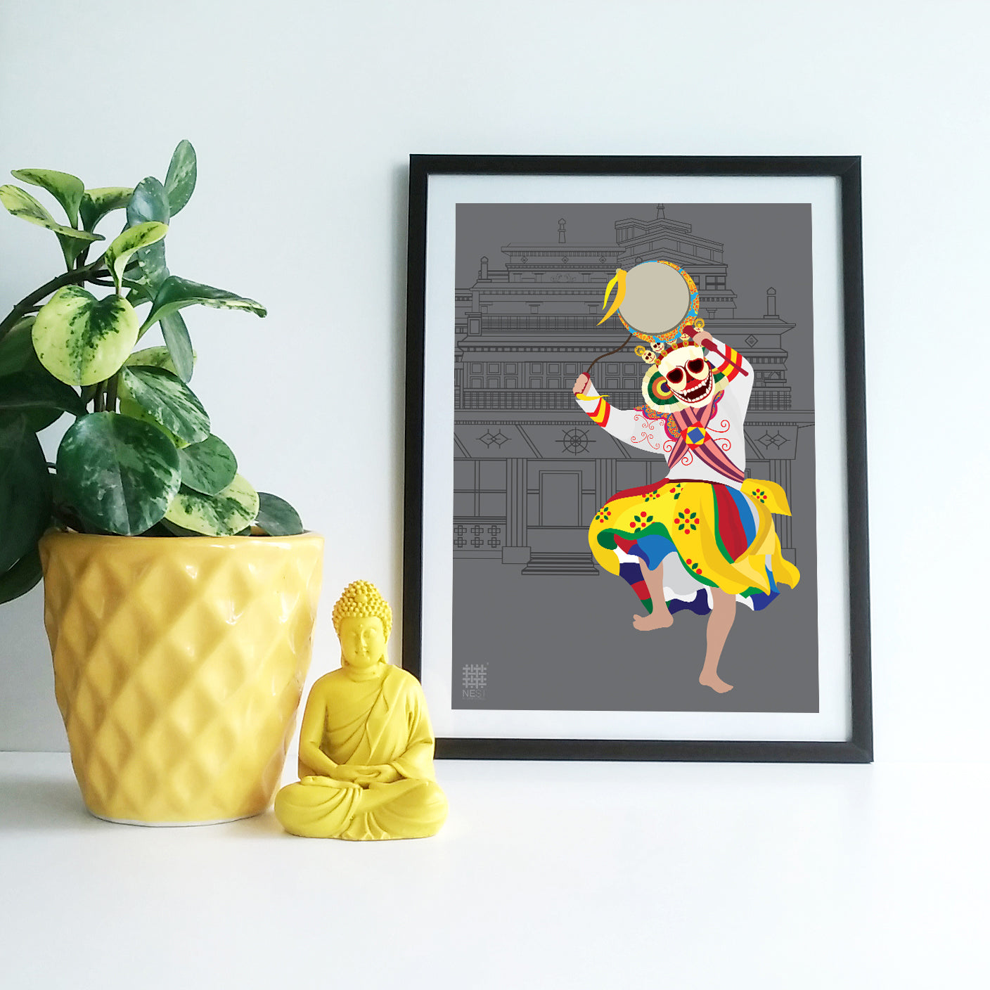 Chaam Dance 3 - Print Only - NEST by Arpit Agarwal