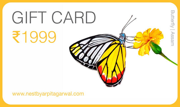 Gift Card - NEST by Arpit Agarwal