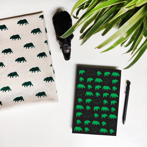 Rhino Pattern Notebook - NEST by Arpit Agarwal