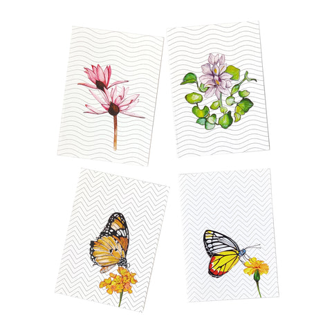 Water Colour Collection - Set of 4