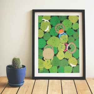 Assam Tea Garden - Print Only - NEST by Arpit Agarwal