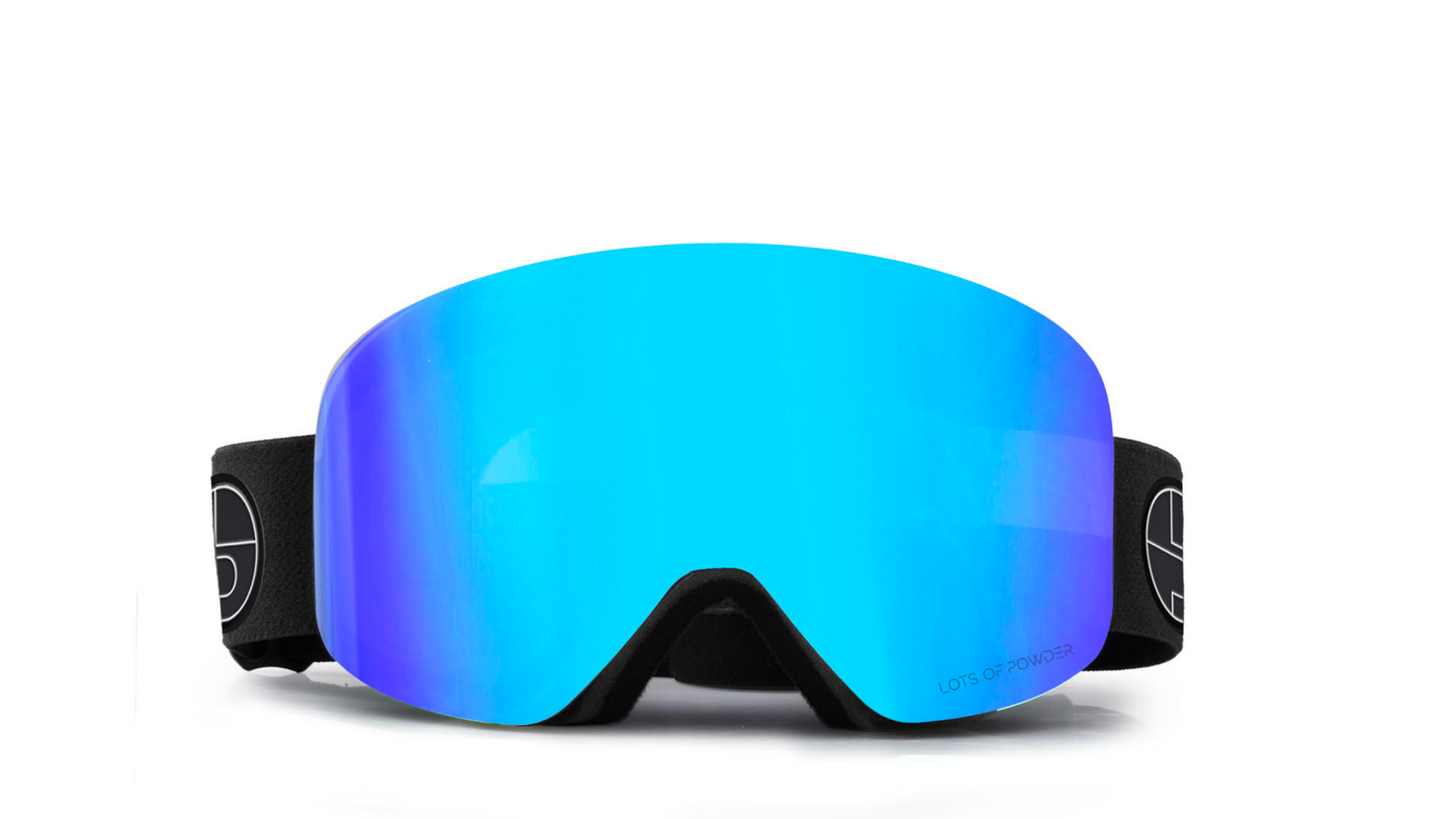 LOTS OF POWDER_Mirrored Ski Goggles