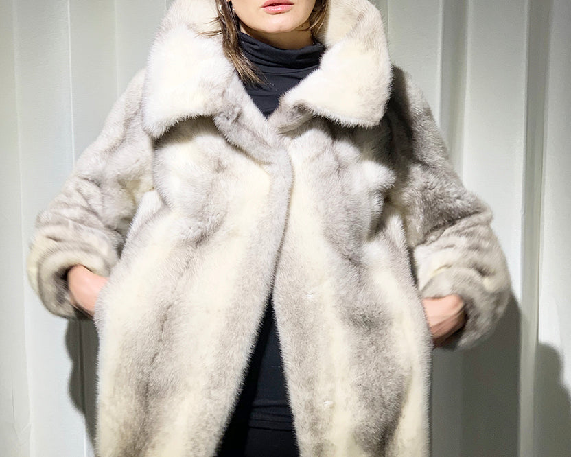 Danish Cross Mink Coat