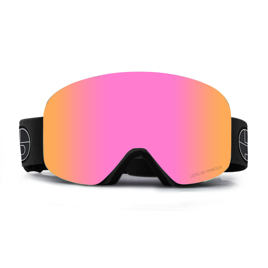 Colored Magnetic Mirrored Ski Goggles