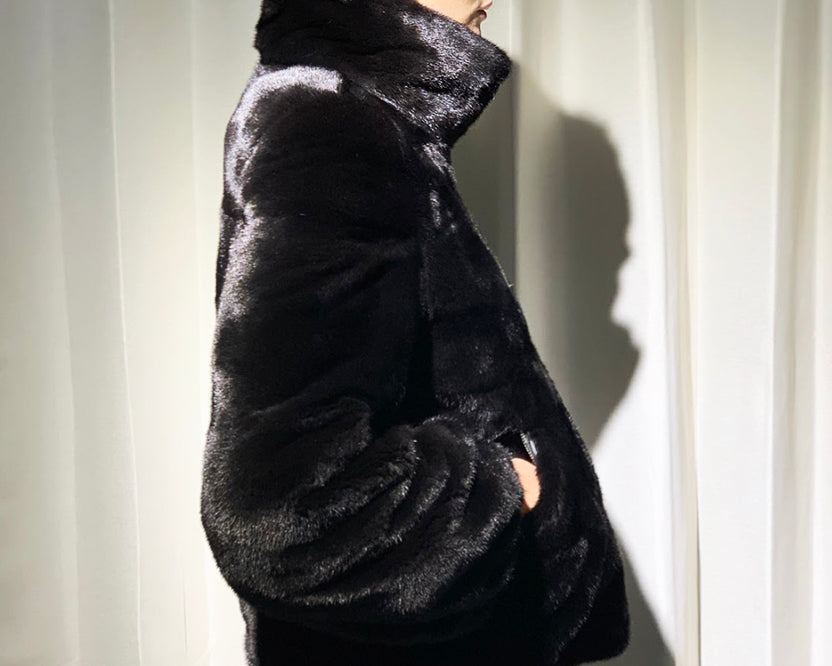 Blackgama Mink Reversible Jacket
