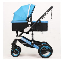 Load image into Gallery viewer, Wisesonle baby stroller 2 in 1 stroller lying or dampening folding light weight two-sided child four seasons Russia free shippin
