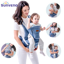 Load image into Gallery viewer, Sunveno New Baby Carriers Ergonomic Baby Carrier Coat Backpack Carrier Stool Hipseat For Newborn Kangaroo Baby Sling 20kg Heaps