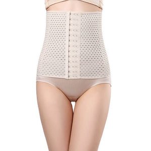 3-Row Hook Waist Trainer - Dropshipping Hot Shapers Corset Slimming Shapewear Women Body Shaper Slimming Modeling Strap Belt