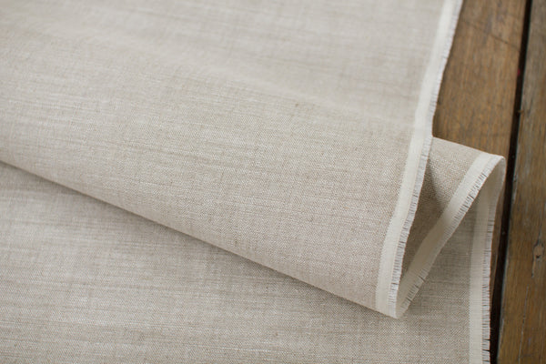50cm of Oatmeal 100% Eco-linen