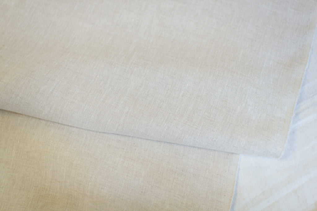 25cm of Lightweight Oatmeal 100% Belgian Linen