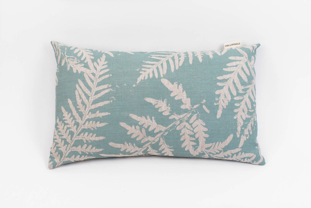 Rectangle Cushion - Bracken in Stream