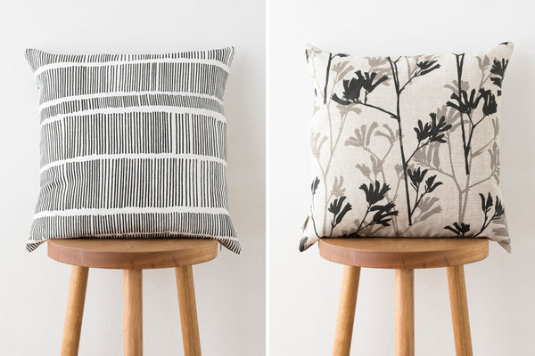 Cushion - Sticks & Kangaroo Paw
