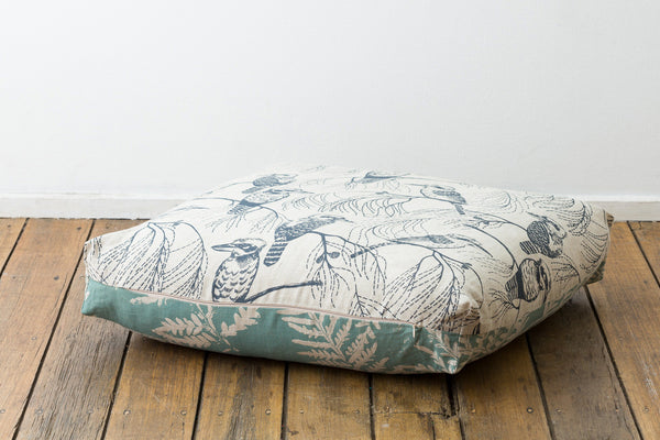 Floor Cushion - Kookaburra & Bracken