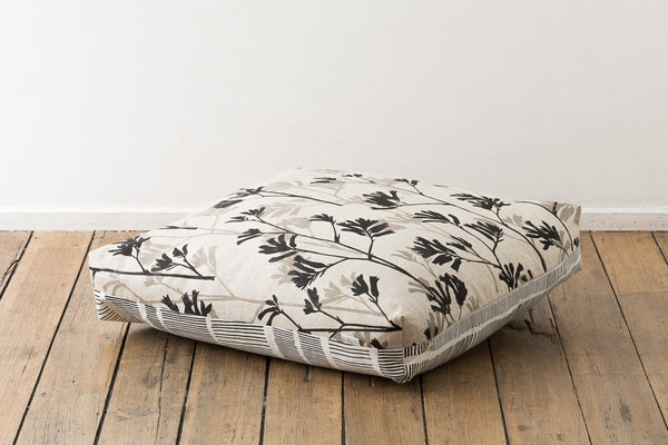 Floor Cushion - Sticks & Kangaroo Paw