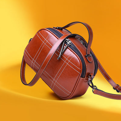 Bun Leather bag