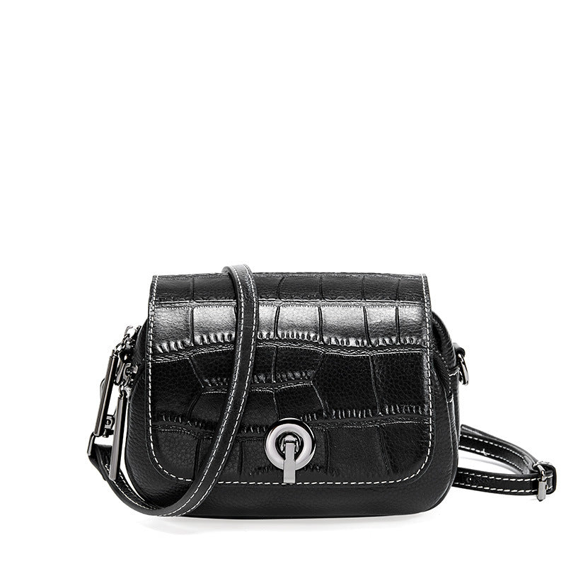 Fashion Crocodile Pattern Leather Bag