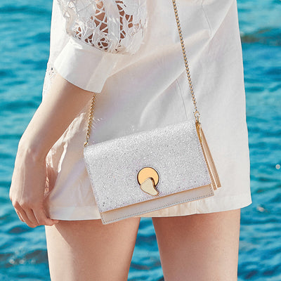 Fashion Sequins Square Bag