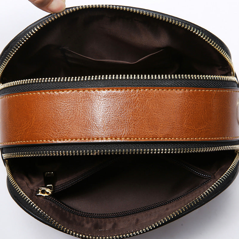 One Generation Small Square Leather Bag