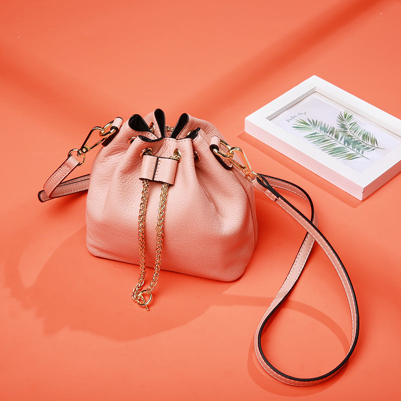 Fashion Wild Bucket Leather Bag