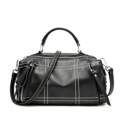 New Fashionable Boston Leather Handbag