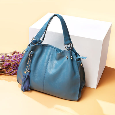 Casual Tassel Leather Bag