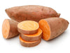 Sweet Potato a main ingredient in our sustainable hypoallergenic dog food. Sweet Potato is ideal for a sustainable eco-friendly alternative vegan dog food. It is used in our raw pet food and dehydrated pet food. Vegan Sweet Potato used in our ethical huma