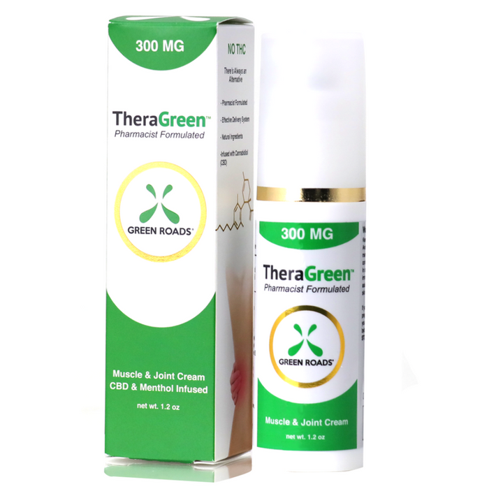 Green Roads Theragreen CBD Pain Cream 300mg - CBD Discount Shop