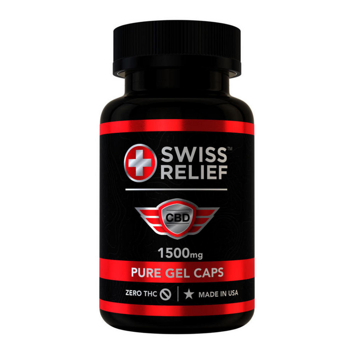 Blue Moon Swiss Relief Gel Capsules - 750mg to 1500mg - CBD Discount Shop
