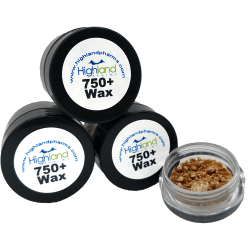Highland Pharms Hemp Wax | 750+