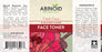 Abinoid Botanicals Face Toner - Aloe & Red Clover - CBD Discount Shop