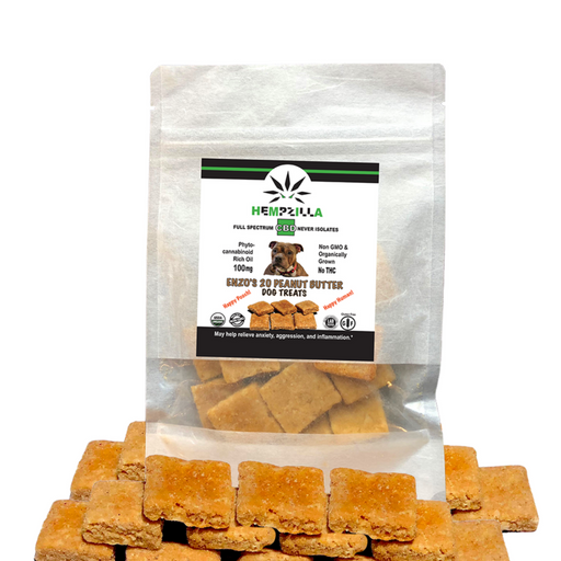 Hempzilla CBD Pet Treats - 20 pack - CBD Discount Shop