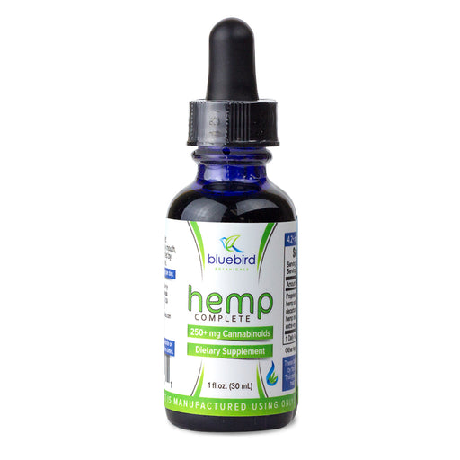 Bluebird Botanicals: Hemp Complete CBD Oil - CBD Discount Shop