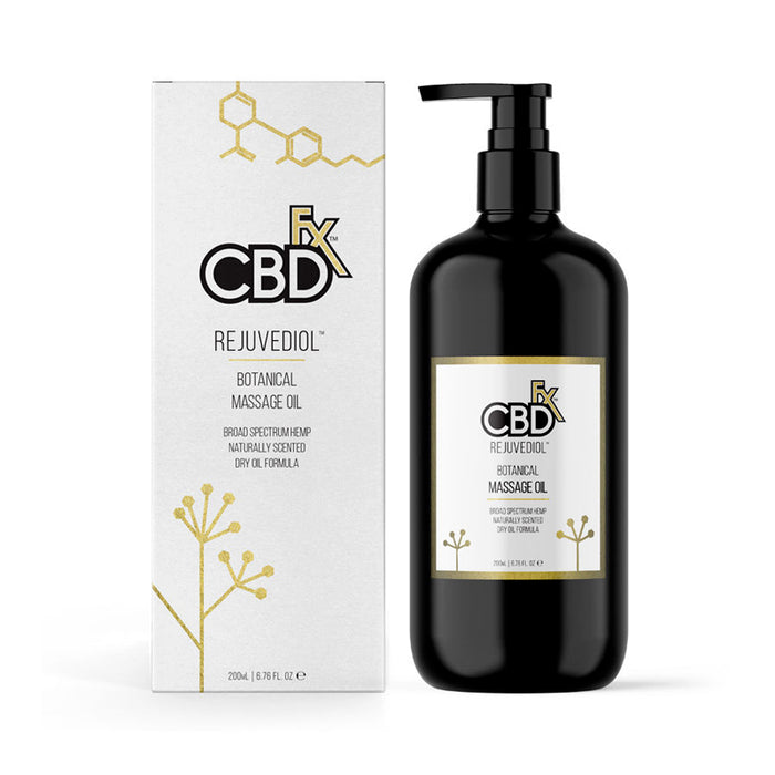 CBDFx Massage Oil – Rejuvediol
