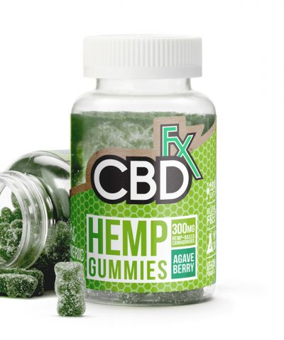 CBDFx CBD Gummies with Turmeric and Spirulina | 300mg