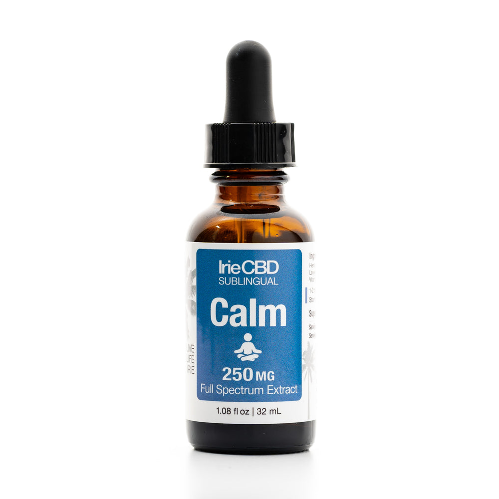 IrieCBD: Calm | 250mg to 500mg