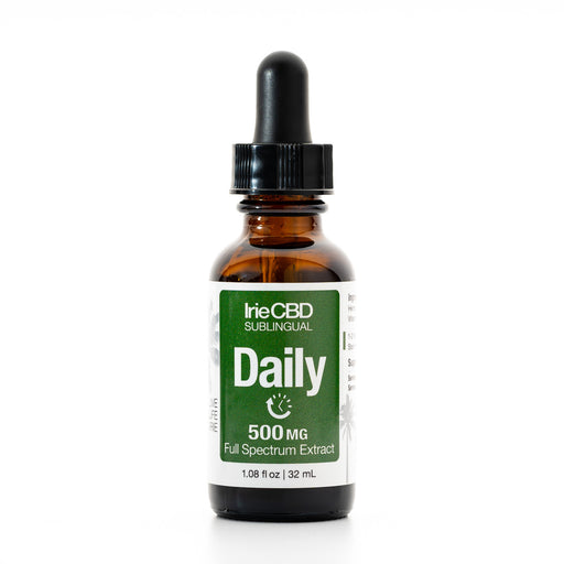 IrieCBD: Daily | 250mg to 500mg