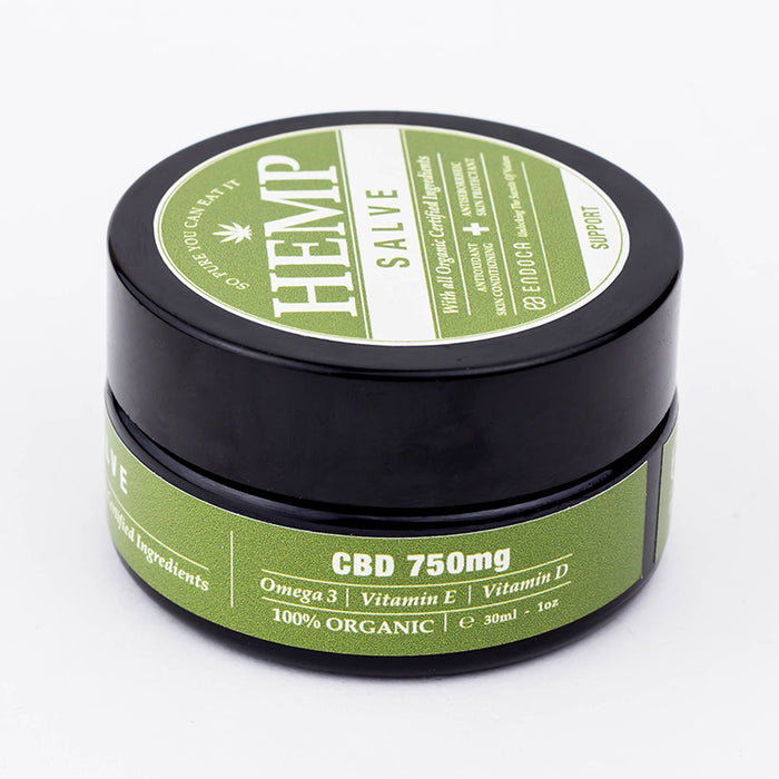 Endoca – Hemp Salve 1oz (750mg CBD) - CBD Discount Shop