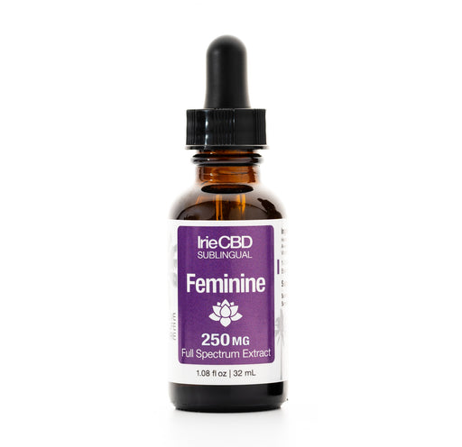 IrieCBD: Feminine | 250mg to 1000mg