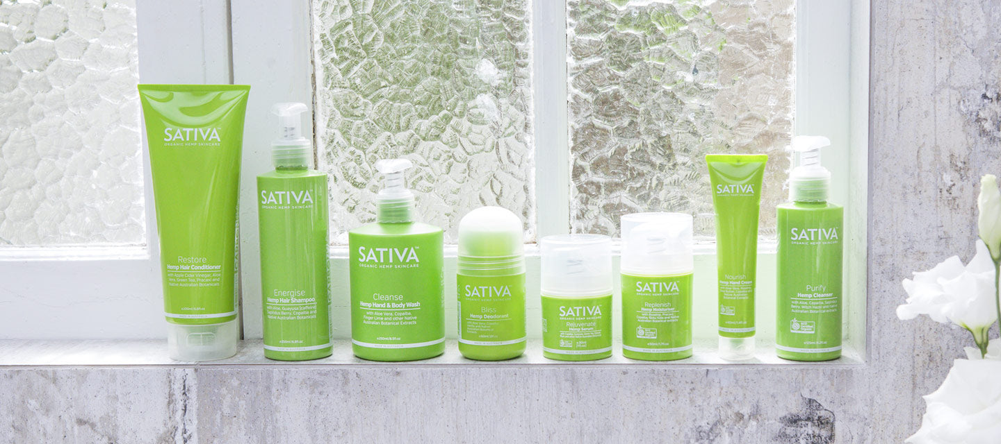 Sativa Hemp for SkinCare Bundle