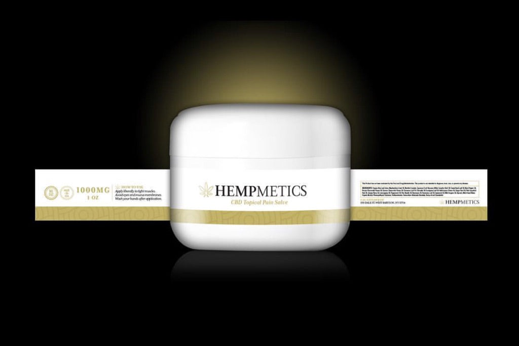 Hempmetics Topical Pain Salve 1 oz Jar