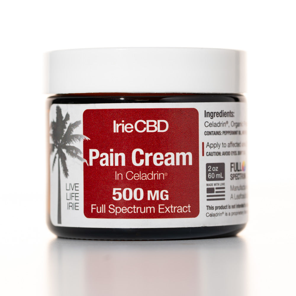 IrieCBD Pain Cream with Celadrin