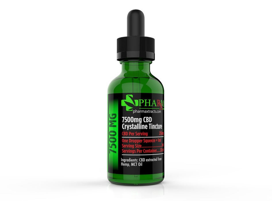 Pharmaxtracts Tincture 500mg-7500mg - CBD Discount Shop