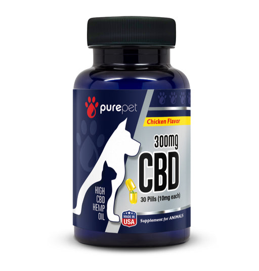 Pure Pet CBD Pills - 30 Count - CBD Discount Shop