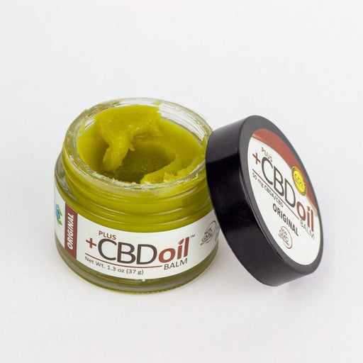 PlusCBD Oil – Hemp Balm 1.3oz (50-100mg CBD) - CBD Discount Shop