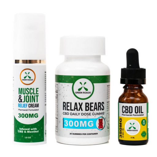 Green Roads Mission Zero CBD Bundle - CBD Discount Shop