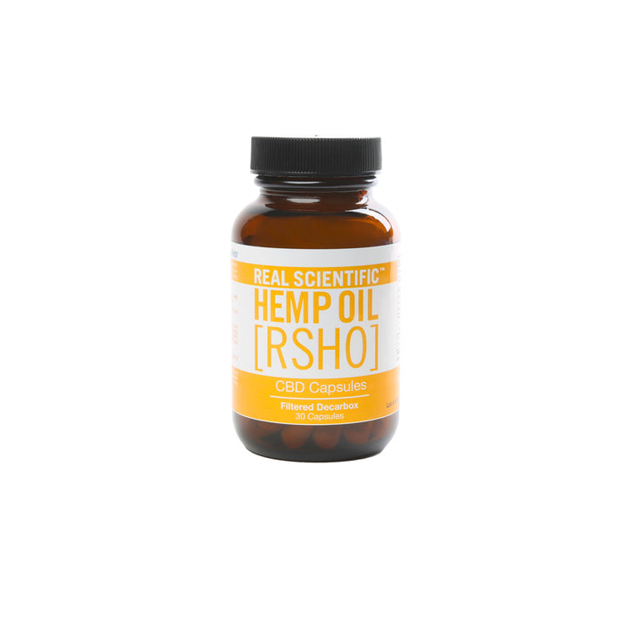 RSHO Gold Label CBD Capsules | 25mg 30 Count