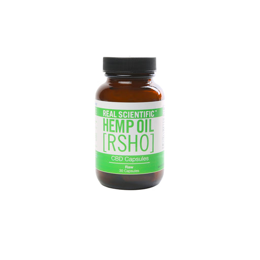 RSHO Green Label CBD Capsules | 25mg 30 Count
